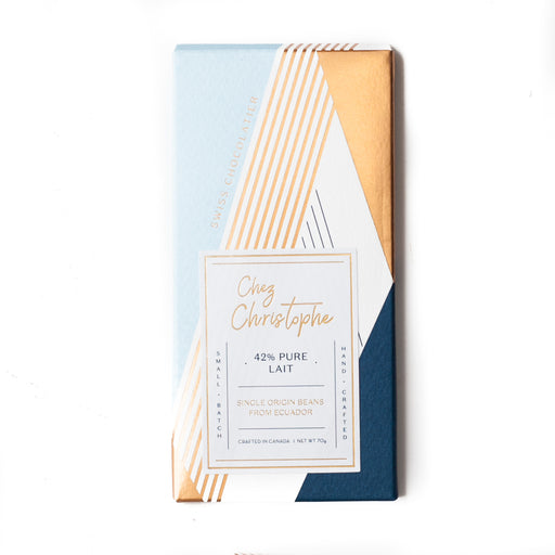 42% Pure Lait Handcrafted Chocolate Bar