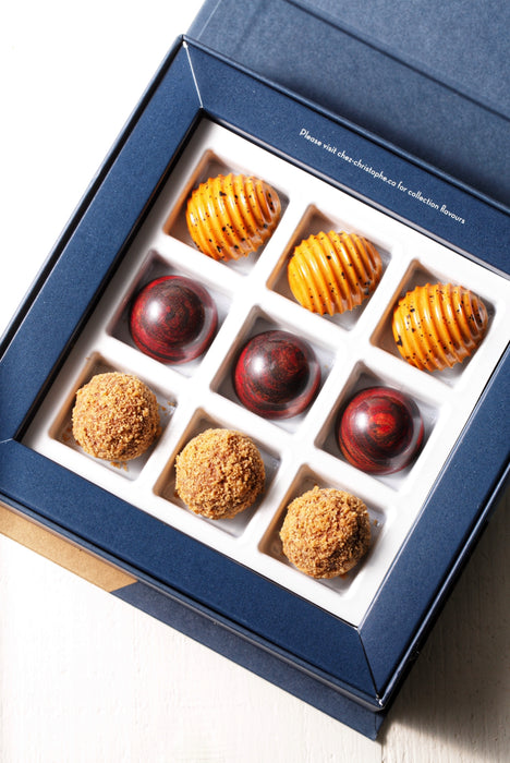 The Food Gays x Chez Christophe Limited Edition 9 Piece Chocolate Box