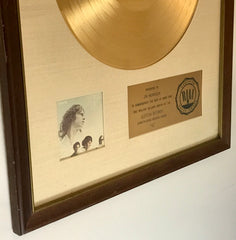 Rare Doors RIAA Award To Jim Morrison Up For Sale