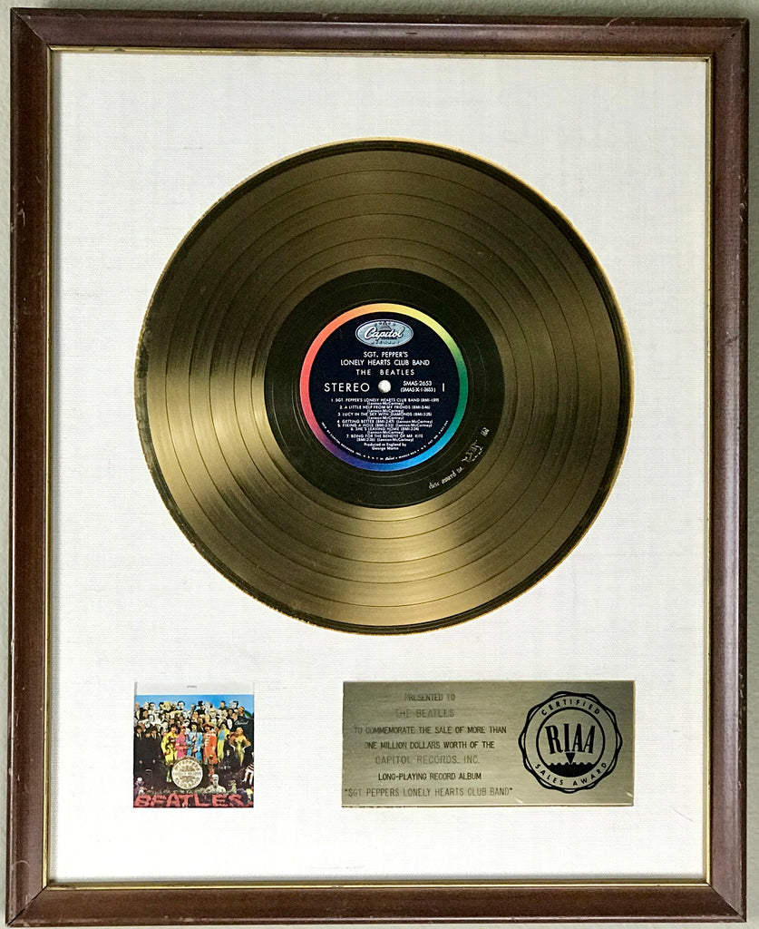 10 Highest RIAA Gold/Platinum Record Sales: $68K Anyone?