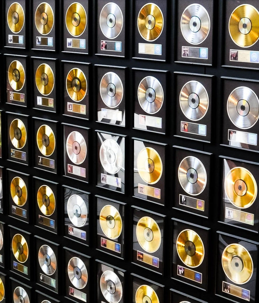 New To Collecting Gold & Platinum Records?