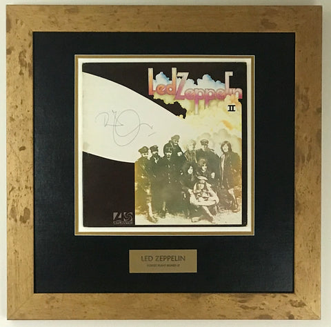 Led Zeppelin album signed by Robert Plant