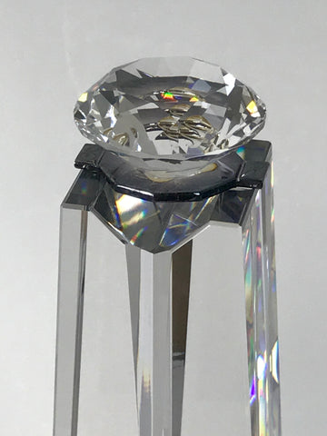RIAA Diamond Award crystal top