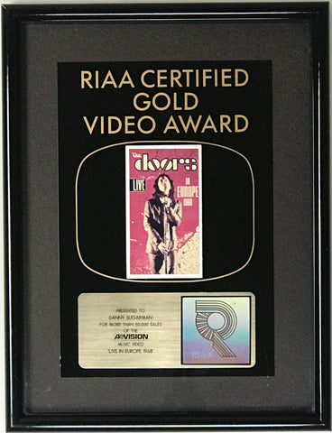 The Doors Longform RIAA Music Video Award