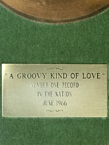 Label Record Award for A Groovy Kind Of Love