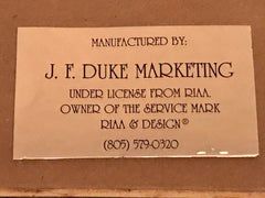 JF Duke RIAA label
