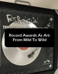 Record Awards As Art - From Mild To Wild