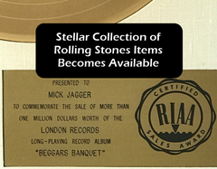 Stellar Collection of Rolling Stones Items
