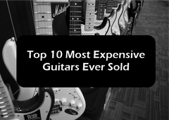 10 Most Expensive Guitars Ever Sold