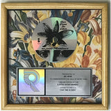 10,000 Maniacs Our Time In Eden RIAA Platinum Album Award - Record Award
