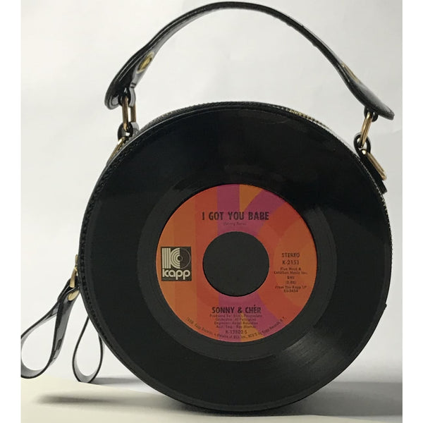 45 Purse - 60s Pop - Sonny & Cher I Got You Babe