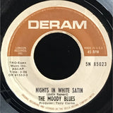 45 Purse - 60s Rock - The Moody Blues Nights In White Satin