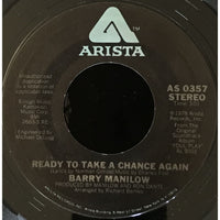 45 Purse - 70s Pop M-Z - Barry Manilow Ready To Take A Chance Again