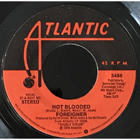 45 Purse - 70s Rock A-L - Foreigner Hot Blooded