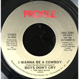 45 Purse - 80s Pop A-B - Boys Dont Cry I Wanna Be A Cowboy