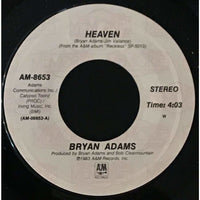 45 Purse - 80s Pop A-B - Bryan Adams Heaven
