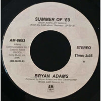 45 Purse - 80s Pop A-B - Bryan Adams Summer Of 69