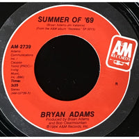 45 Purse - 80s Pop A-B - Bryan Adams Summer of 69 red label