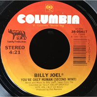 45 Purse - 80s Pop I-K - Billy Joel Youre Only Human (Second Wind)