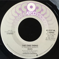 45 Purse - 80s Pop I-K - INXS The One Thing