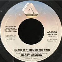 45 Purse - 80s Pop L-Q - Barry Manilow I Made It Through The Rain