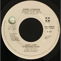 45 Purse - 80s Pop L-Q - John Lennon (Just Like) Starting Over