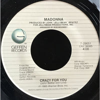 45 Purse - 80s Pop L-Q - Madonna Crazy For You