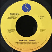 45 Purse - 80s Pop L-Q - Madonna Papa Dont Preach