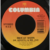 45 Purse - 80s Pop L-Q - Men At Work Dr. Heckyll & Mr. Jive