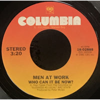 45 Purse - 80s Pop L-Q - Men At Work Who Can It Be Now