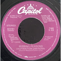 45 Purse - 80s Pop L-Q - Missing Persons Destination Unknown