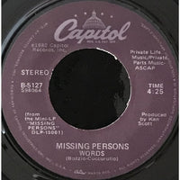 45 Purse - 80s Pop L-Q - Missing Persons Words