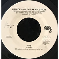 45 Purse - 80s Pop L-Q - Prince and the Revolution Kiss