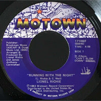 45 Purse - 80s Pop R-S - Lionel Richie Running With The Night