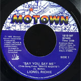 45 Purse - 80s Pop R-S - Lionel Richie Say You Say Me