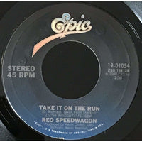 45 Purse - 80s Pop R-S - REO Speedwagon Take It On The Run