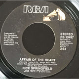 45 Purse - 80s Pop R-S - Rick Springfield Affair Of The Heart