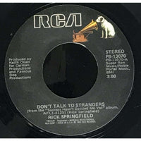45 Purse - 80s Pop R-S - Rick Springfield Dont Talk To Strangers