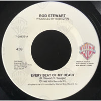 45 Purse - 80s Pop R-S - Rod Stewart Every Beat Of My Heart