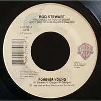 45 Purse - 80s Pop R-S - Rod Stewart Forever Young