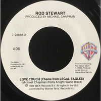 45 Purse - 80s Pop R-S - Rod Stewart Love Touch