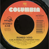 45 Purse - 80s Pop R-S - Romeo Void A Girl In Trouble...