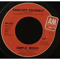 45 Purse - 80s Pop R-S - Simple Minds Sanctify Yourself