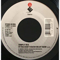 45 Purse - 80s Pop R-S - Simply Red If You Dont Know Me By Now