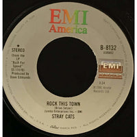 45 Purse - 80s Pop R-S - Stray Cats Rock This Town