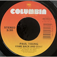 45 Purse - 80s Pop T-Z - Paul Young Come Back And Stay