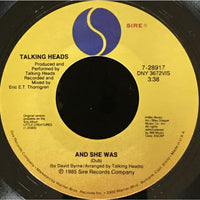 45 Purse - 80s Pop T-Z - Talking Heads And She Was