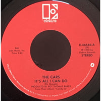 45 Purse - 80s Pop T-Z - The Cars Its All I Can Do