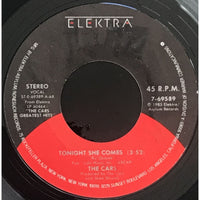 45 Purse - 80s Pop T-Z - The Cars Tonight She Comes