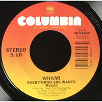 45 Purse - 80s Pop T-Z - Wham! Everything She Wants